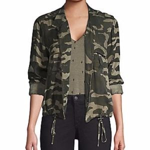 RAILS Rowen Camo Jacket Green Forest XSmall XS